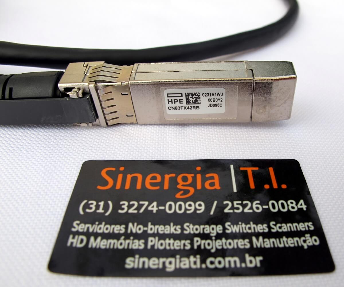JH694A HPE X240 10G SFP+ SFP+ 1.2m DAC Campus Cable - Cabo DAC Part Number