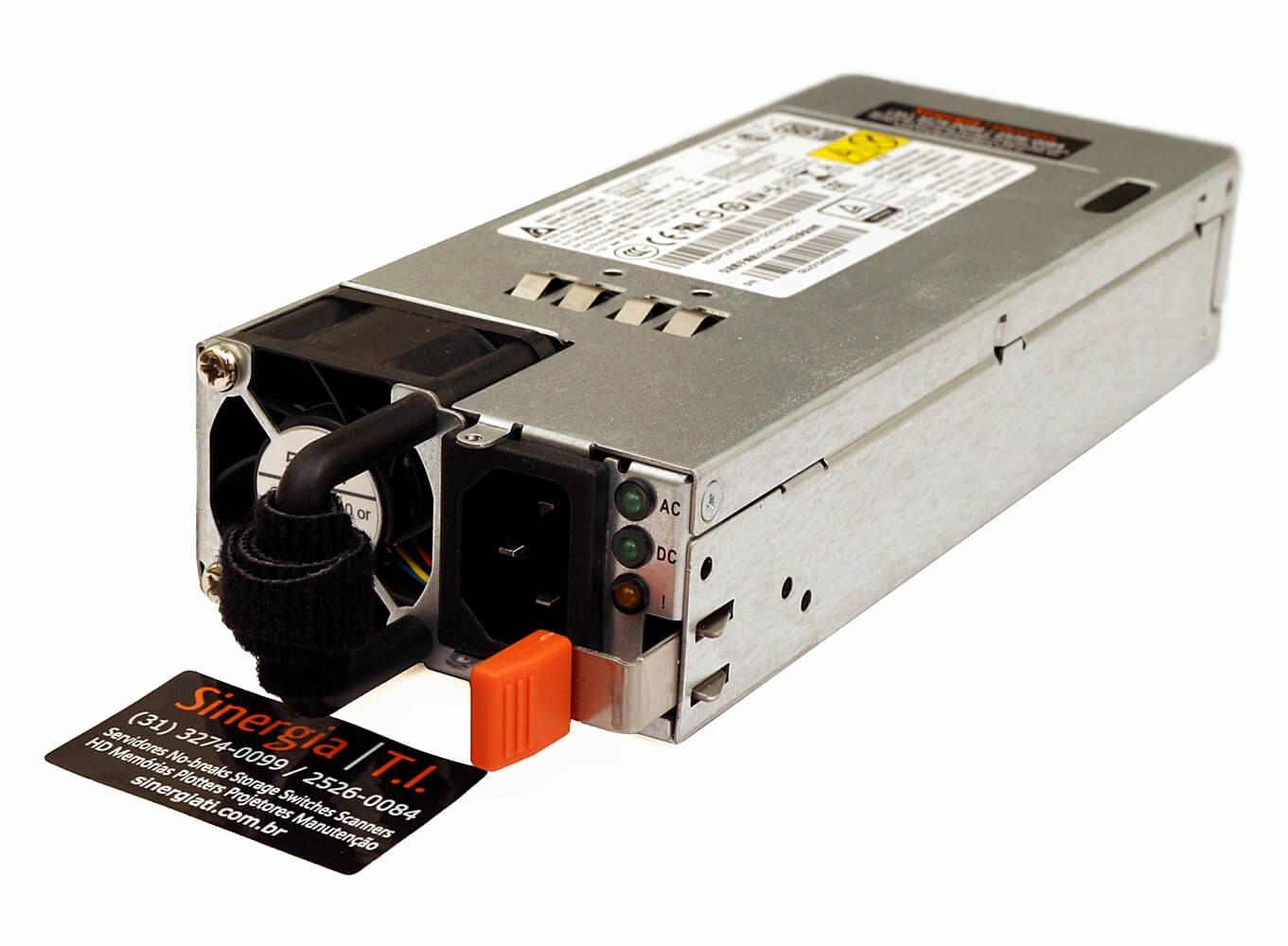 00HV224 FONTE REDUNDANTE LENOVO 550W HOT SWAP PARA SERVIDOR THINKSERVER RD450 RD550 RD650 TD350