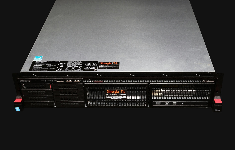 RD450 Servidor Lenovo ThinkServer modelo RD450 - 8 Cores
