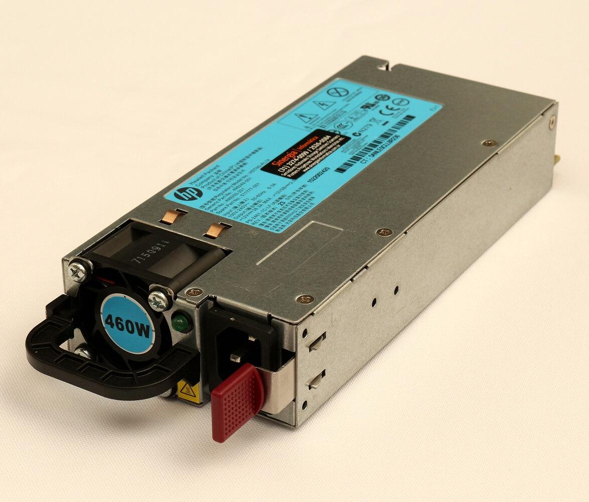 499249-001 Fonte Redundante Para Servidores HPE ProLiant ML350p DL360e DL360p DL380e DL380p DL385p 460W
