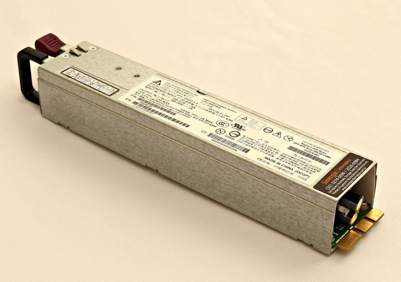 HP PN: 509008-001 Fonte 400W Servidor ProLiant DL320 G6 e DL120 G7 - Produto Oficial