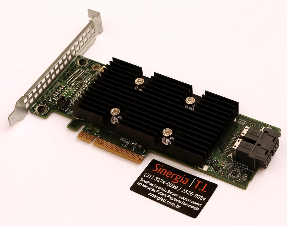 405-AAEI H330 Dell Controladora PERC H330 PCI-Express 8 Portas 12gb/s SAS SATA 6G Para Servidores Dell R630 T430 R730 pronta entrega