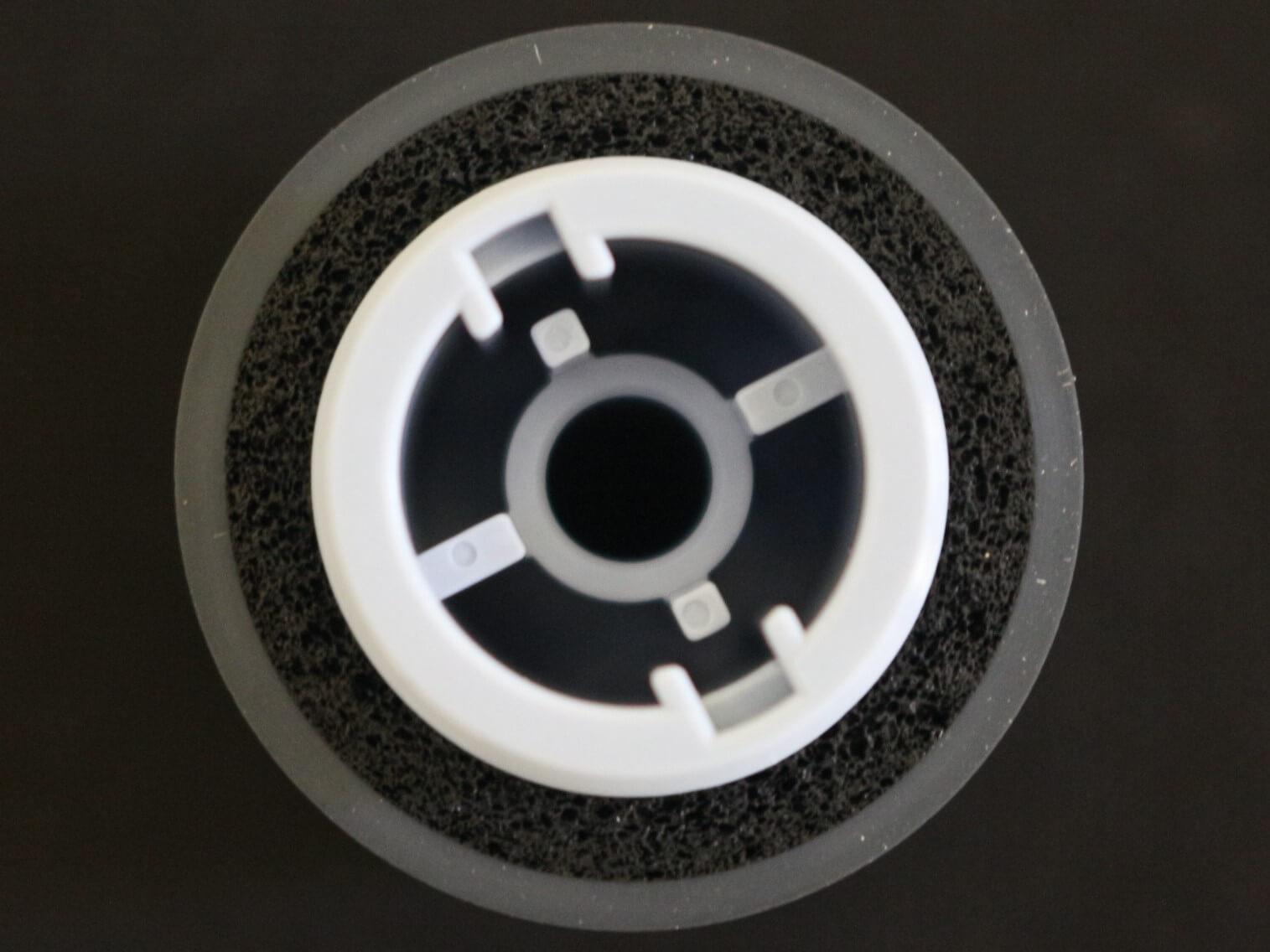 Foto close por cima Brake Roller PA03740-K010 para Scanners Fujitsu fi-7600 fi-7700 e fi-7700S