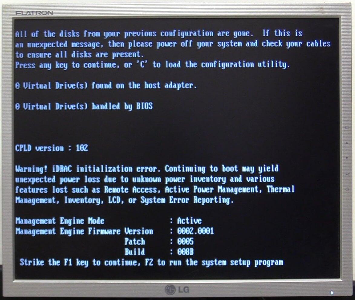 Error iDRAC Conserto de Placa Mãe dos Servidores Dell PowerEdge de 12ª Geração (R420, R520, R620 e R720) e 13ª Geração (R430, R530, R630 e R730) CPLD version : 102 e 103