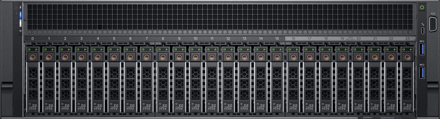 Servidor Dell EMC R940 PowerEdge Xeon foto com 24 discos de 2,5 polegadas (SFF)