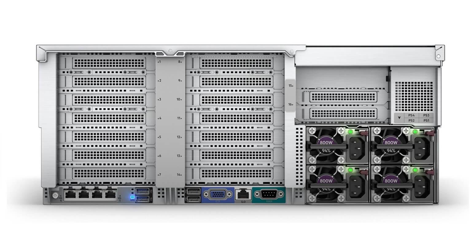 869854-B21 Servidor HPE DL580 Gen10 ProLiant 4P Gold 6152 64GB P408i-a 4x1600W PS envio imediato