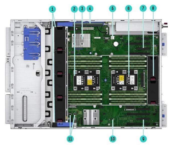Servidor HPE ML350 Gen10 4208 1P 16GB 8 SFF P408i-a 1x800W FS RPS base SFF torre em estoque