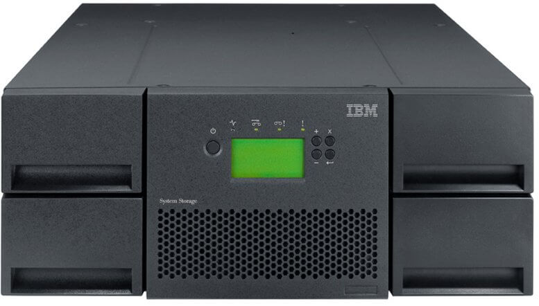 Drive LTO IBM Tape Library